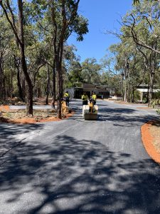 Amaroo Retreat & Spa Driveway Completion